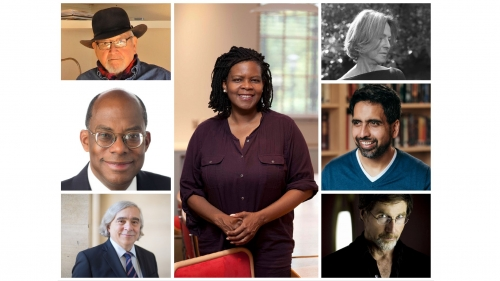 collage of honorary degree recipients