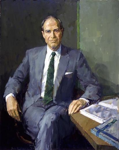Portrait of David T. McLaughlin