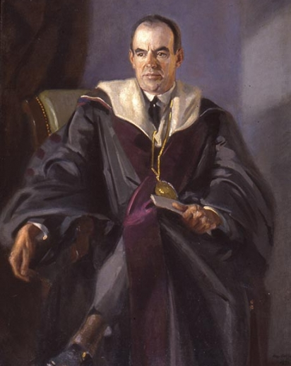 Portrait of Ernest Martin Hopkins