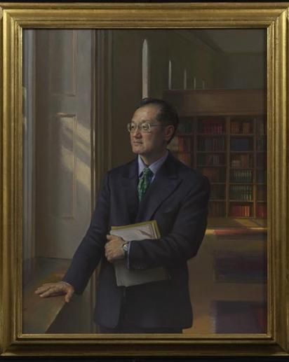 Portrait of Jim Yong Kim