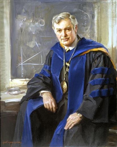 Portrait of John Kemeny