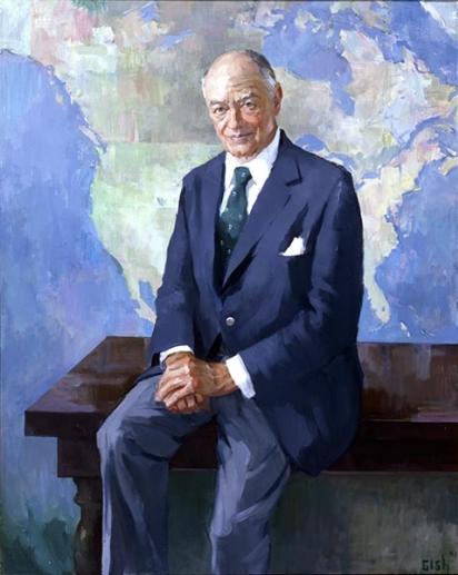 Portrait of John Sloan Dickey
