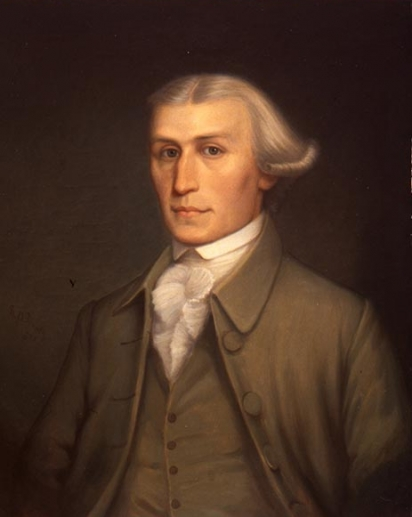 Portrait of John Wheelock