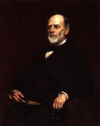 Portrait of Samuel Colcord Bartlett
