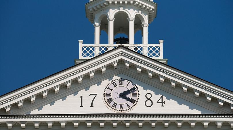 Dartmouth Hall clock tower