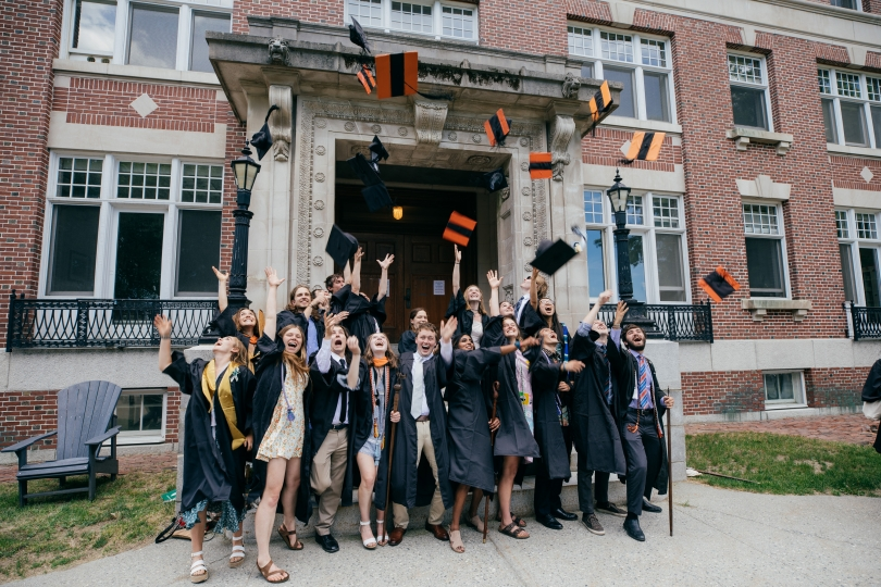 Dartmouth students celebrate Commencement